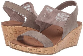 Skechers Beverlee - Moon Glider (Dark Taupe) Women's Sandals