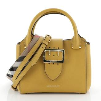 Burberry Yellow Leather Handbags