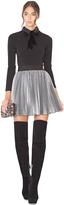 Alice + Olivia Danica Sunburst Mini Skirt
