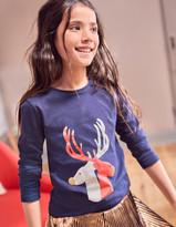 Boden Christmas Reindeer T-Shirt