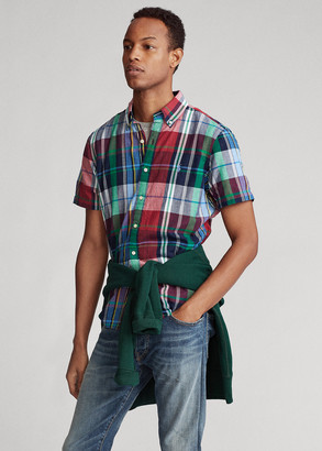 Ralph Lauren Plaid Madras Shirt