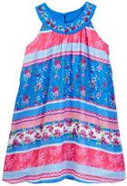 Blush by Us Angels Sleeveless Trapeze Georgette Dress (Big Girls)