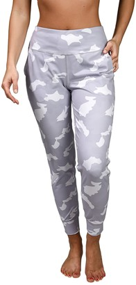 90 Degree By Reflex Lux Camo Side Pocket Joggers