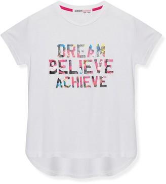 M&Co Minoti slogan sports t-shirt (3-12yrs)