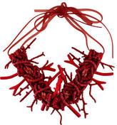 Donna Karan Coral Necklace