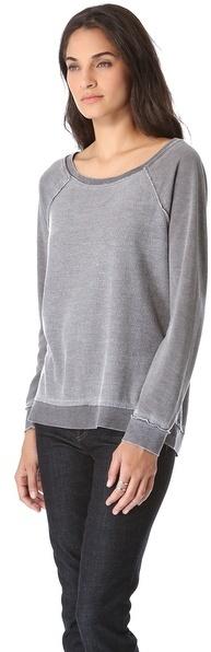 Chaser Reverse Fleece Top