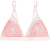 Mimi Holliday Lace And Tulle Triangle Bra