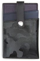WANT Les Essentiels Men's Kennedy Leather Money Clip Card Case - Black