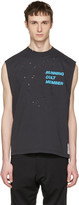 Satisfy Black Cult Moth Eaten Tank Top