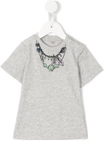 Stella McCartney necklace print T-shirt - kids - Cotton - 6 mth