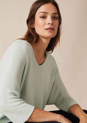 Phase Eight Lexa Scooped V Neck Knit Top