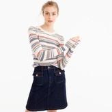 J.Crew Italian cashmere thin-striped sweater