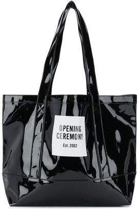 Opening Ceremony medium Box Logo tote bag