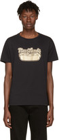 Marc Jacobs Black Hot Dog Logo T-shirt