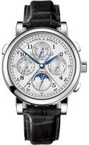 A. Lange & Söhne A. Lange and Sohne Rattrapante 1815 Platinum / Leather 41.9mm Mens Watch