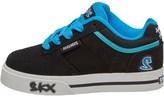 Skechers Boys Vert II Low Trainers Black/Light Blue