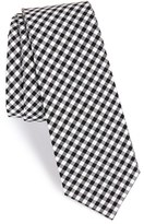 The Tie Bar Men's Check Cotton Tie