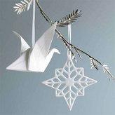 PorcelainSnowflake Ornaments