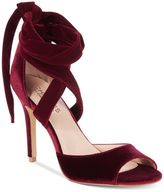 Charles by Charles David Rebecca Velvet Dress Sandals