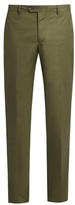 Etro Stretch-cotton Panama Trousers