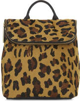 Whistles Mini verity leopard haircalf backpack