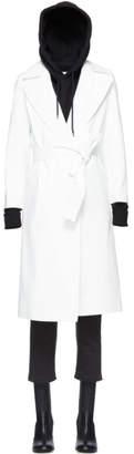 A-Plan-Application White Rubberized Rain Coat