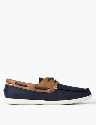 Marks and Spencer Perforated Boat Shoes