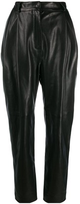 CARMEN MARCH High-Rise Tapered Trousers