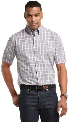 Arrow Men's Hamilton Poplin Plaid Button-Down Shirt