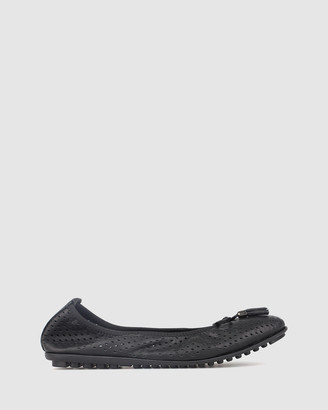 Airflex Belle Perforated Leather Ballet Flats