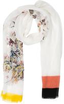 Etro Multicolor Silk Scarf