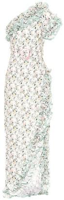 Gül Hürgel Floral linene dress