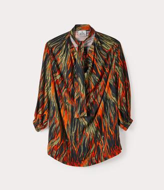Vivienne Westwood Garret Dress Flames Print