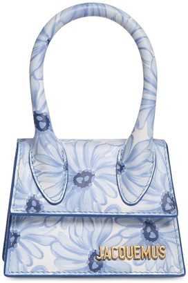 Jacquemus LE CHIQUITO PRINTED LEATHER BAG