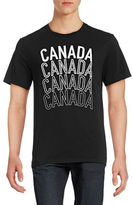 Canadian Olympic Team Collection Mens Stacked Canada T-Shirt