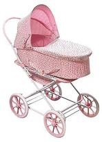 Badger Basket Rosebud 3-in-1 Doll Carrier/Stroller - Pink