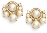 Kate Spade Women's 'Pearls Of Wisdom' Cluster Stud Earrings