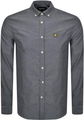 Lyle & Scott Oxford Long Sleeve Shirt Blue