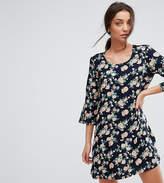 Y.A.S Tall Shanti 3/4 Sleeve Floral Print Dress