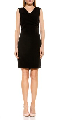 Alexia Admor Kylie V-Neck Ruched Dress