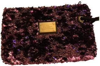 Louis Vuitton Purple Glitter Clutch bags