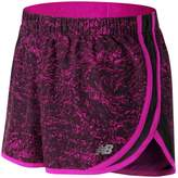 New Balance Women's Accelerate Printed Running Shorts