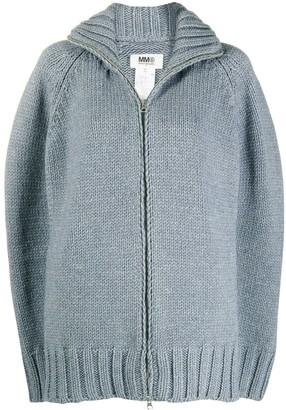 MM6 MAISON MARGIELA Ribbed Knit Cardigan