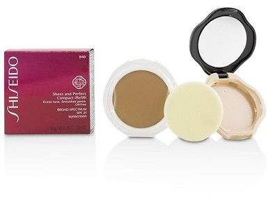 Shiseido NEW Sheer & Perfect Compact Foundation SPF 21 (Case + Refill) - # B60