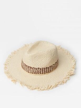 J.Mclaughlin Kim Hat in Basket Weave