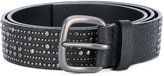 Orciani studded belt - men - Leather - 90