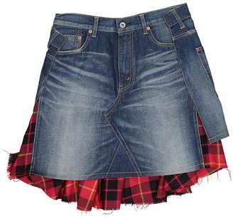 Junya Watanabe Blue Cotton Skirt for Women