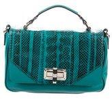 Diane von Furstenberg Embossed Leather Crossbody Bag