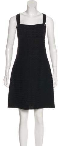 Chanel Textured Shift Dress