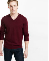 Express merino wool v-neck sweater